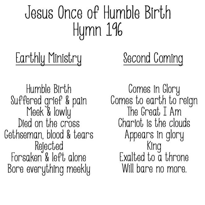 jesusonceofhumblebirth